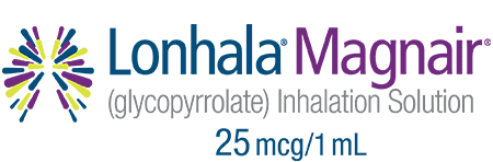 LONHALA™ MAGNAIR™ (indacaterol/glycopyrrolate) inhalation powder 27.5 mcg/15.6 mcg